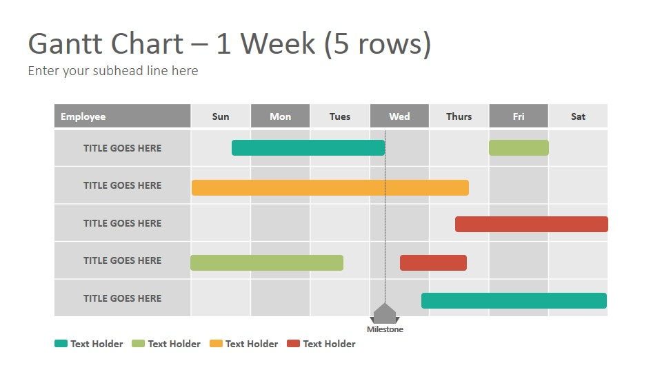 Gantt Diagrams Google Slides Presentation Template Slidesalad