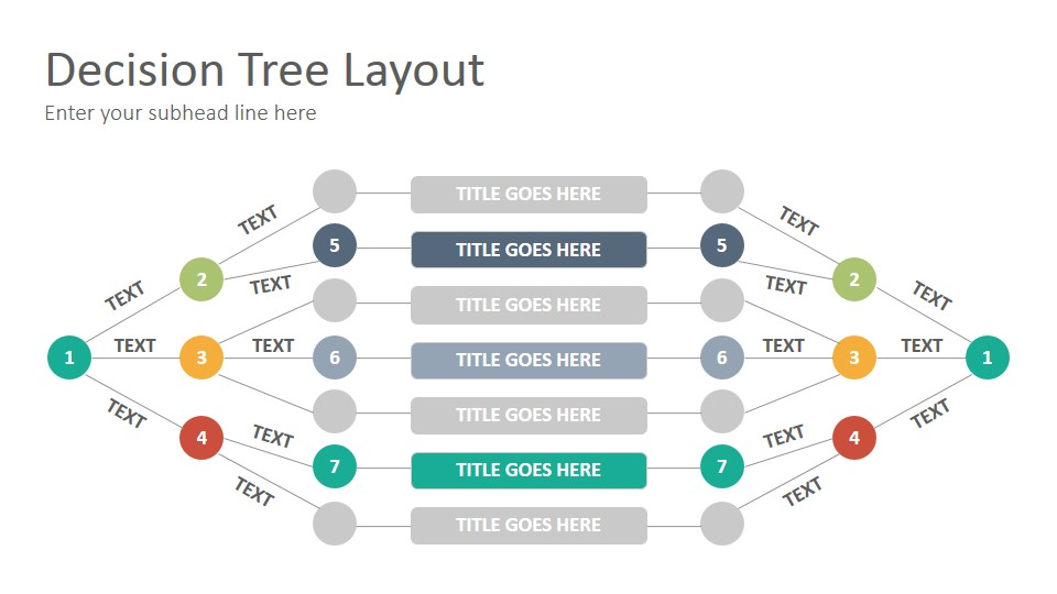Decision Trees Diagrams Diagrams Google Slides Presentation