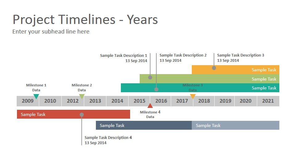 Project Timelines Diagrams Powerpoint Presentation Template