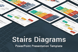 Stairs Diagrams PowerPoint Presentation Template