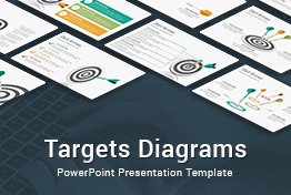 Targets Diagrams PowerPoint Presentation Template