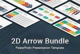 2D Arrow Bundle PowerPoint Presentation Template