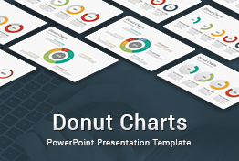 Donut Charts PowerPoint Presentation Template