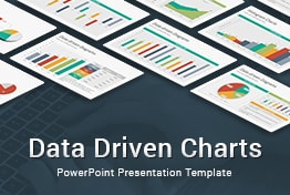 Data Driven Charts Diagrams PowerPoint Template