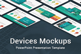 Devices Mockups Layouts PowerPoint Presentation Template
