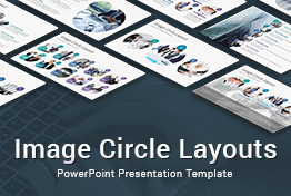 Image Circle Layouts PowerPoint Presentation Template