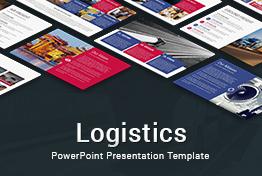 Logistics powerpoint presentation template slidesalad toneelgroepblik Choice Image