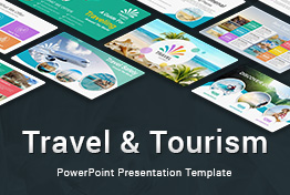 Travel tourism PowerPoint presentation template