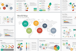 All World Maps PowerPoint Presentation Template