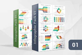 Infographic Designs Pack 01 PowerPoint Template For Presentations