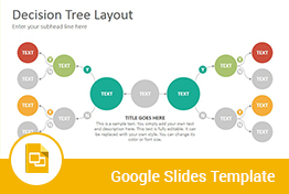 Decision Trees Diagrams Google Slides Presentation Template