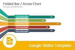 folded bar column charts diagrams google slides presentation template