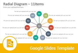 Radial Diagrams Google Slides Presentation Template