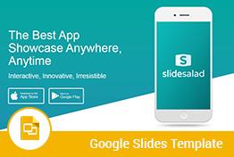 Mobile Application Google Slides Presentation Template