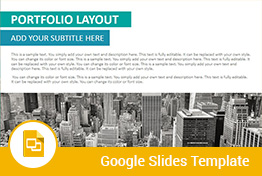 Image Layouts Google Slides Presentation Template