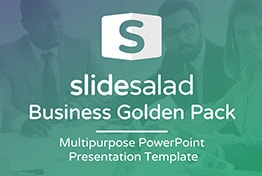 Golden Pack Multipurpose PowerPoint Presentation