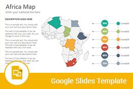 Africa Maps Google Slides Presentation Template