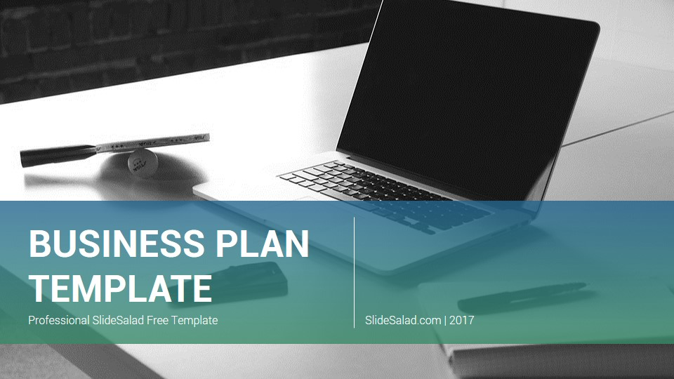 eff59211b8 Business Plan Free PowerPoint Presentation Template - SlideSalad