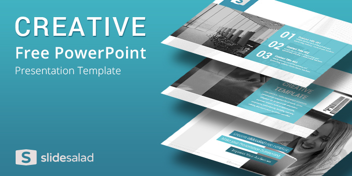 Creative Free Download Powerpoint Template Slidesalad