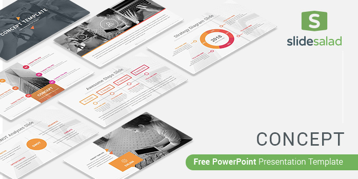 Concept Free PowerPoint Presentation Template - Free