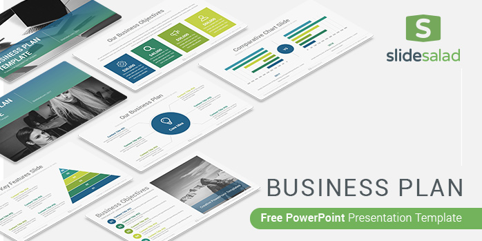 Business Plan Free Powerpoint Presentation Template Slidesalad