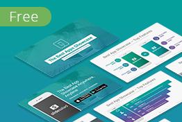 Mobile apps free powerpoint presentation template slidesalad toneelgroepblik Gallery