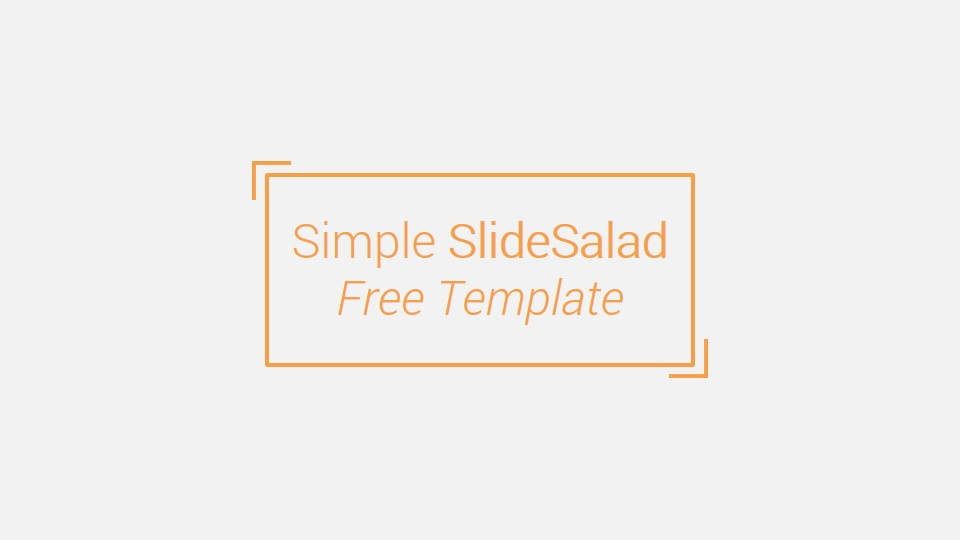 Simple Free Powerpoint Presentation Template Free Download