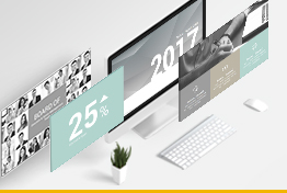 Best Annual Report Google Slides Presentation Templates