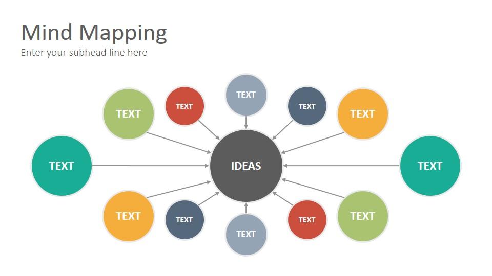 Mind Mapping Diagrams Google Slides Presentation Template Slidesalad