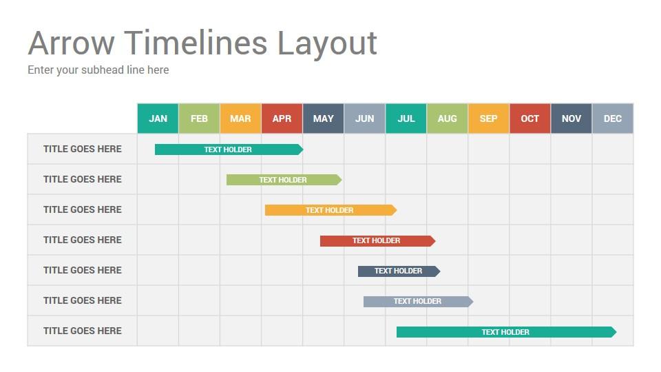 Timelines Diagrams Google Slides Presentation Template ...