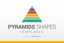2D Pyramids Google Slides Presentation Template