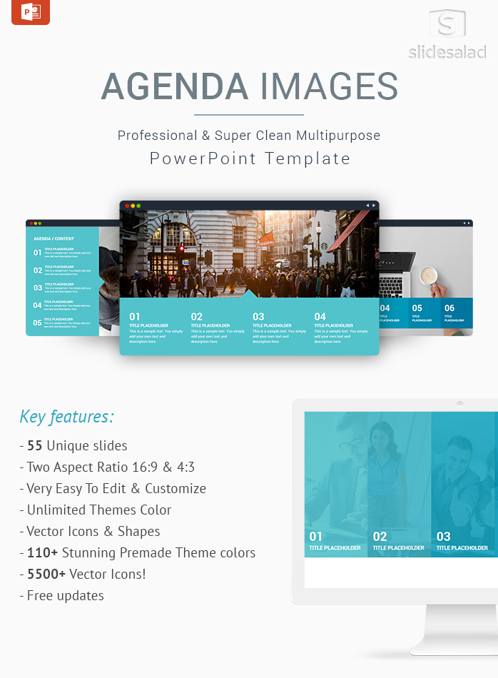 Best Business Agenda Images PowerPoint Template Designs