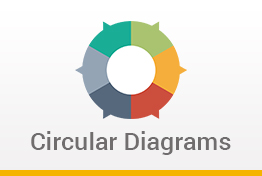 Circular Diagrams Google Slides Template Designs