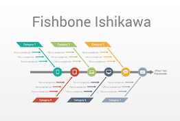 Fishbone Ishikawa Diagrams PowerPoint