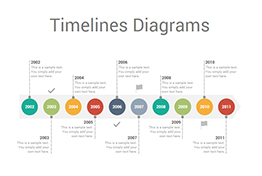 Timelines Diagrams PowerPoint Presentation Template