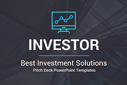 Best Investors Pitch Deck - Investment Proposal PowerPoint Templates