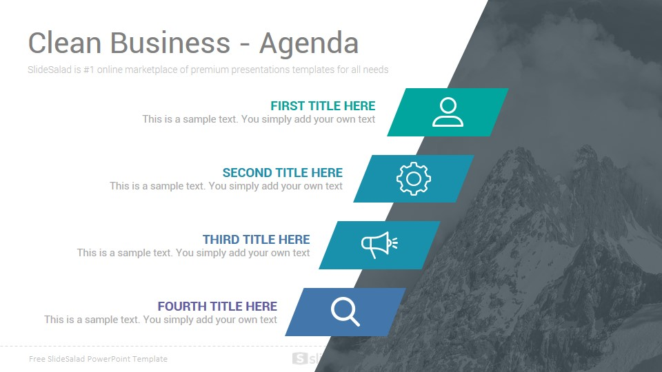 Clean Free Powerpoint Template Free Download