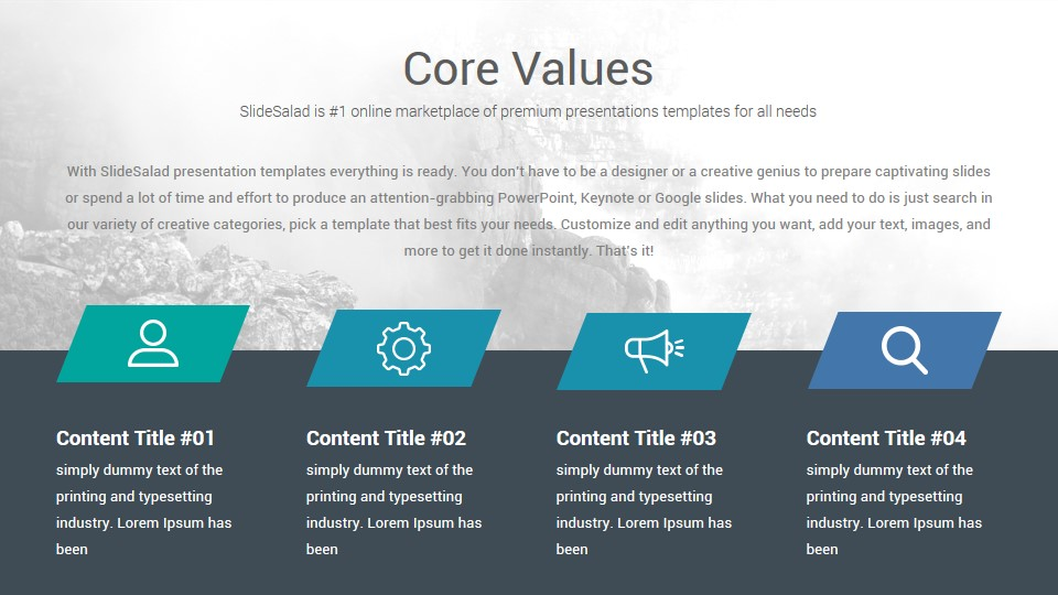 Clean Free PowerPoint Template - Free Download