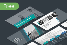 Clean Free PowerPoint Template