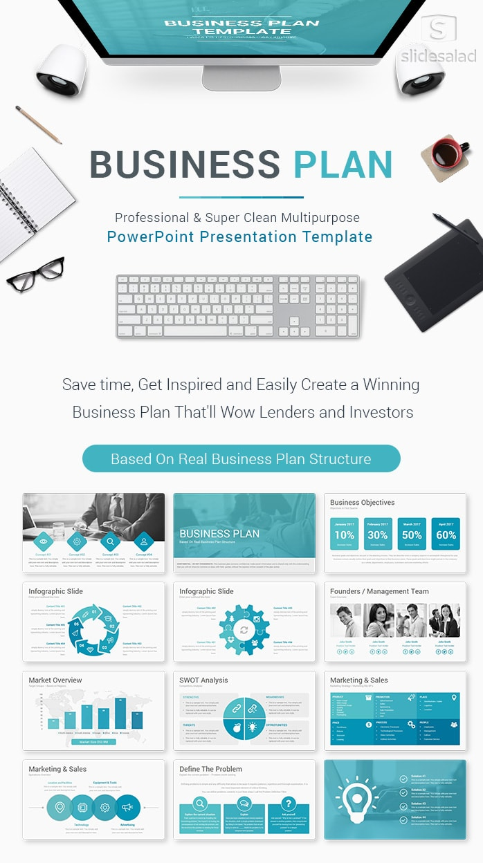 Best Pitch Deck Templates For Business Plan Powerpoint Presentations