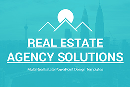 Real Estate Agency Solutions PowerPoint Template For Presentations