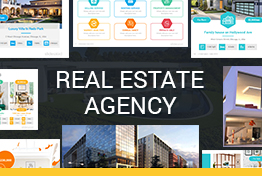Real Estate Agency Google Slides Template Designs
