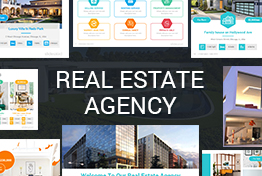 Real Estate Agency PowerPoint Template Designs