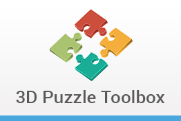 3D Puzzle Toolbox Keynote Template