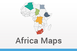 Africa Maps Keynote Template
