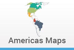 Americas Maps Keynote Template