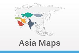 Asia Maps Keynote Template