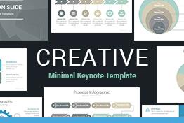 Creative Minimalist Keynote Template
