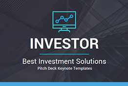 Best Investors Pitch Deck Keynote Template