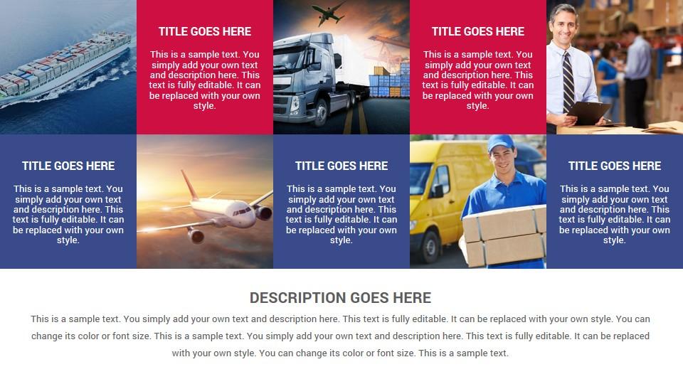 Logistics Keynote Presentation Template - SlideSalad